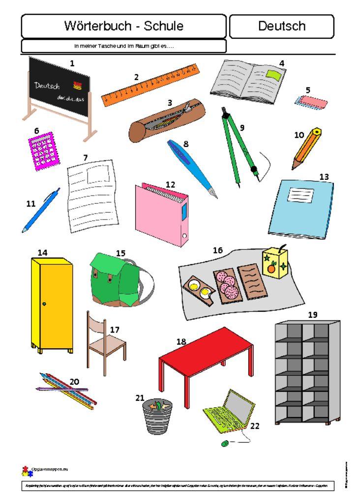 thumbnail of Meine Schule 1 – – Opgavemappen.nu