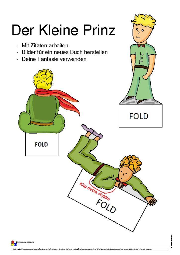 thumbnail of Der Kleine Prinz Aufgaben – opgavemappen.nu