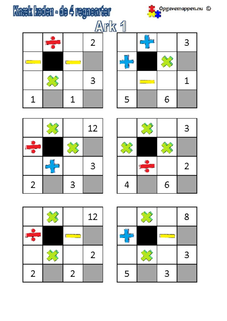 thumbnail of Matematik_knæk_koden_4_regnearter1
