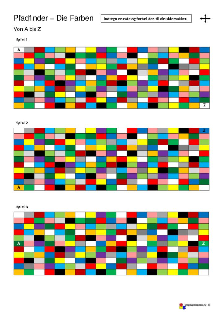 thumbnail of die Farben – Pfadfinder – opgavemappen.nu