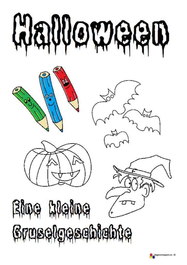thumbnail of Es ist unheimlich – tysk – halloweengeschichte – opgavemappen.nu 1.1