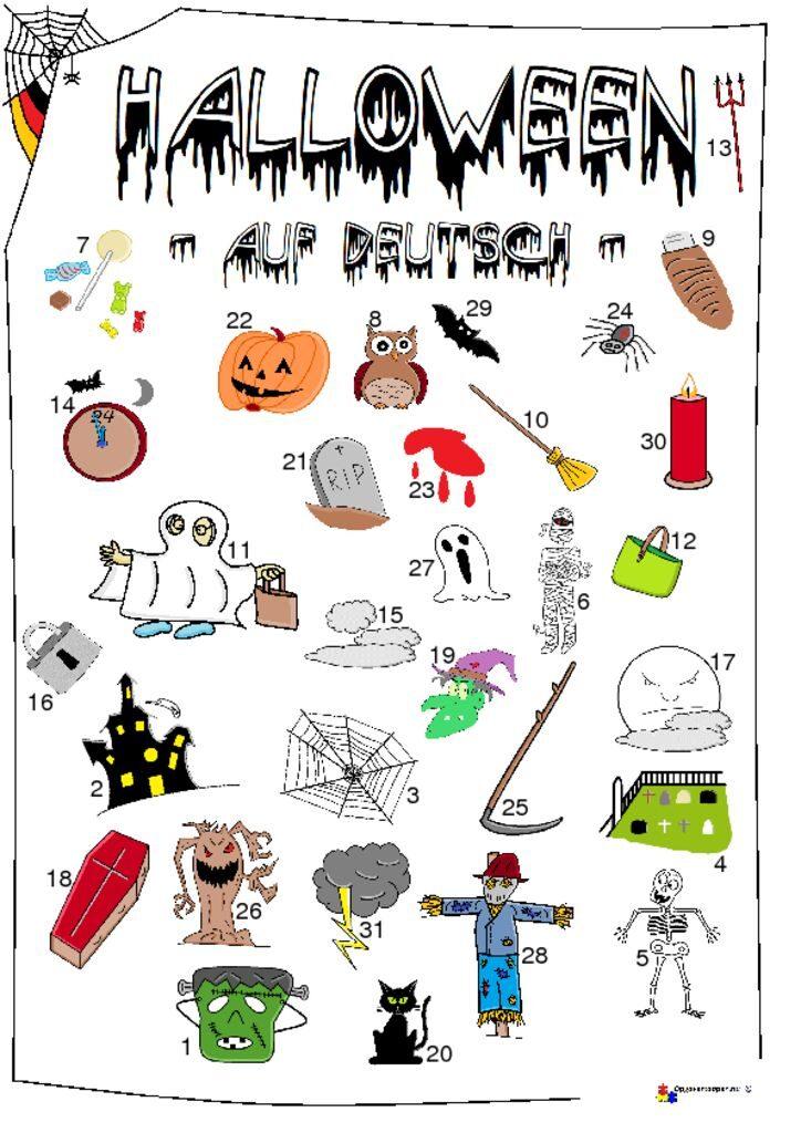 thumbnail of halloween – tysk – opgavemappen.nu 1.2