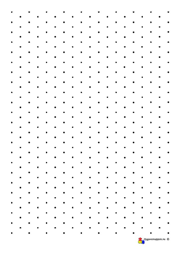 thumbnail of Isometrisk papir punkter
