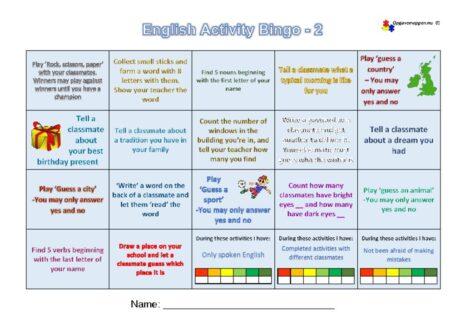 thumbnail of English-Activity-Bingo-2