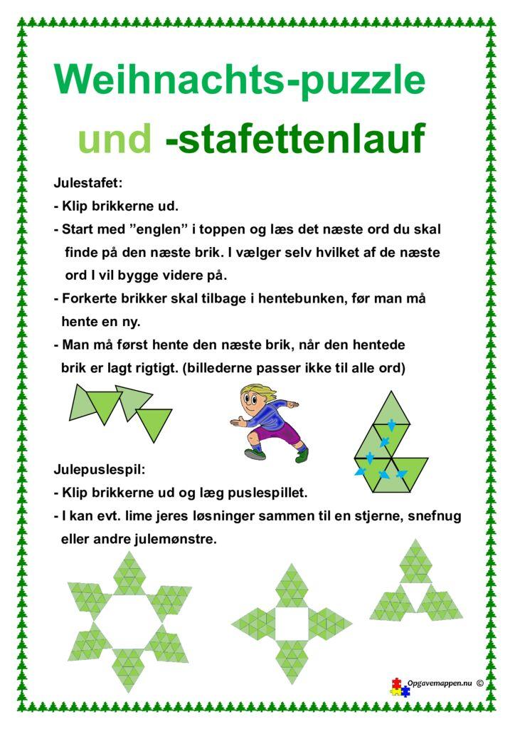 thumbnail of tysk – Weihnachtsbaum – Puzzle – Stafettenlauf – opgavemappen.nu