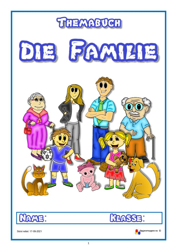 thumbnail of Die Familie – version 2.2 – 17.09.2021 – opgavemappen.nu