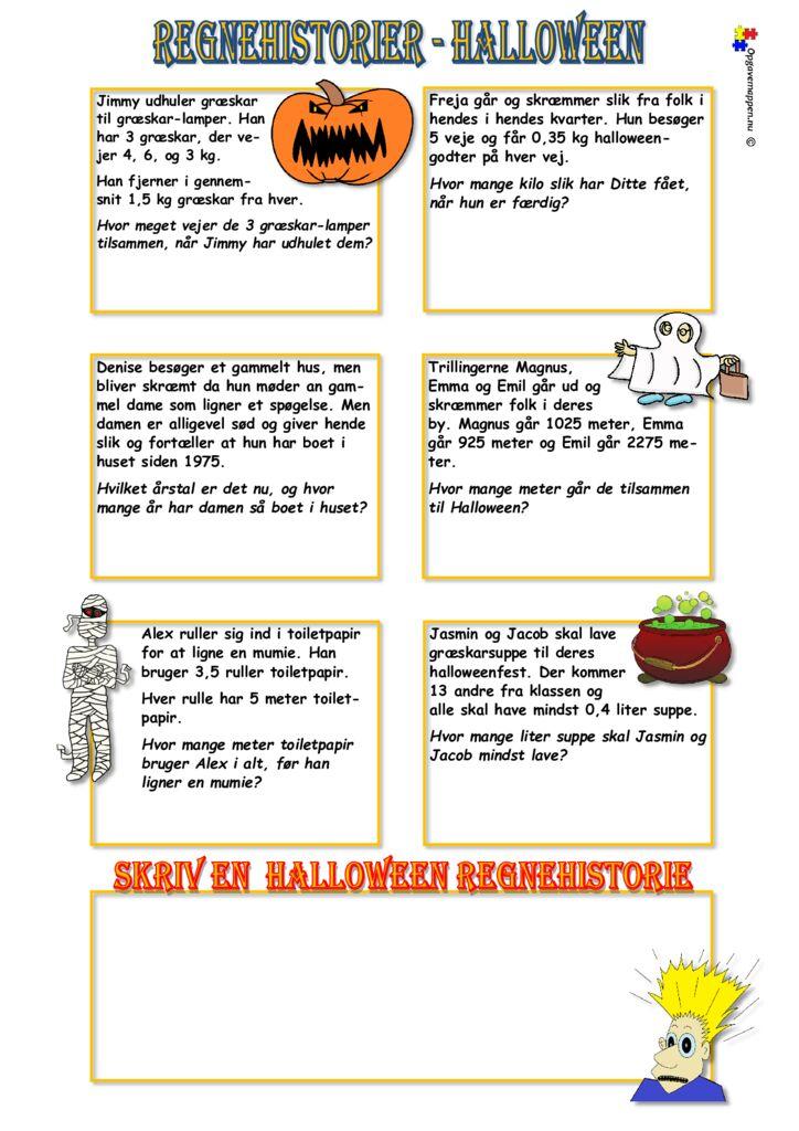 thumbnail of Matematik Regnehistorier Halloween